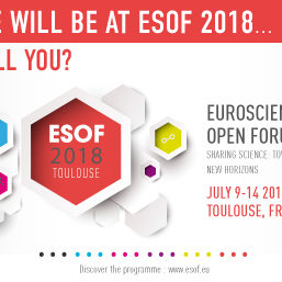 We will be at ESOF_will you